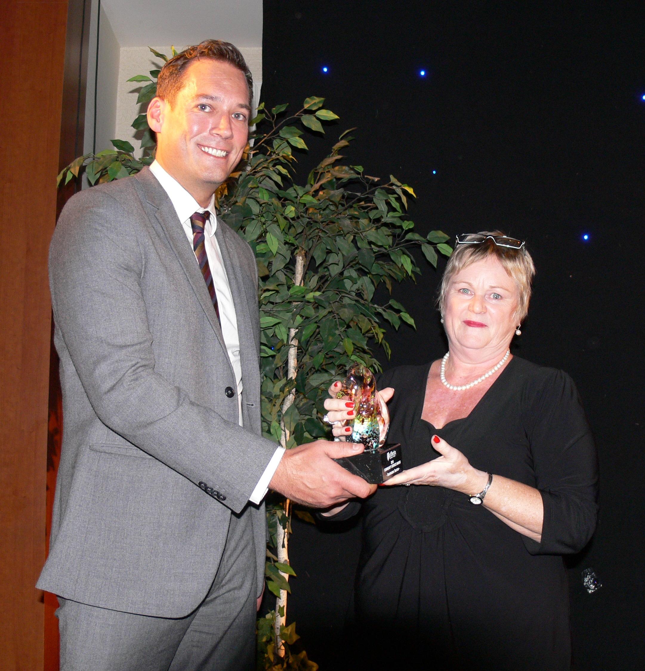 Communtiy Service Winner 2015