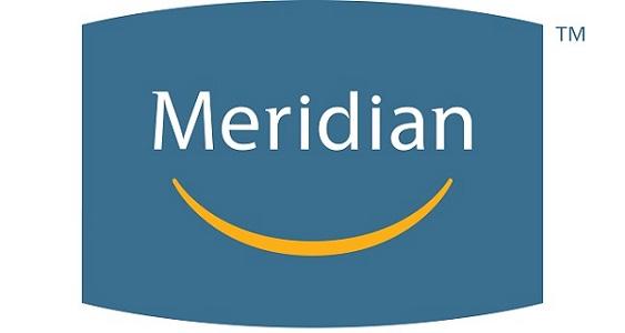 Meridian Logo tagline centre