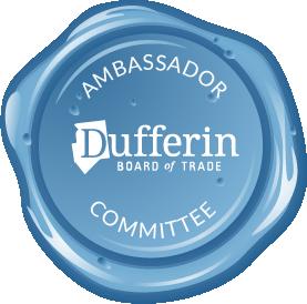 Ambassador button - Dufferin Board of Trade