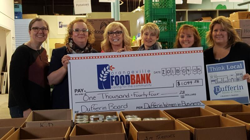 Dufferin Women in Business Raise Over $1000 for ...