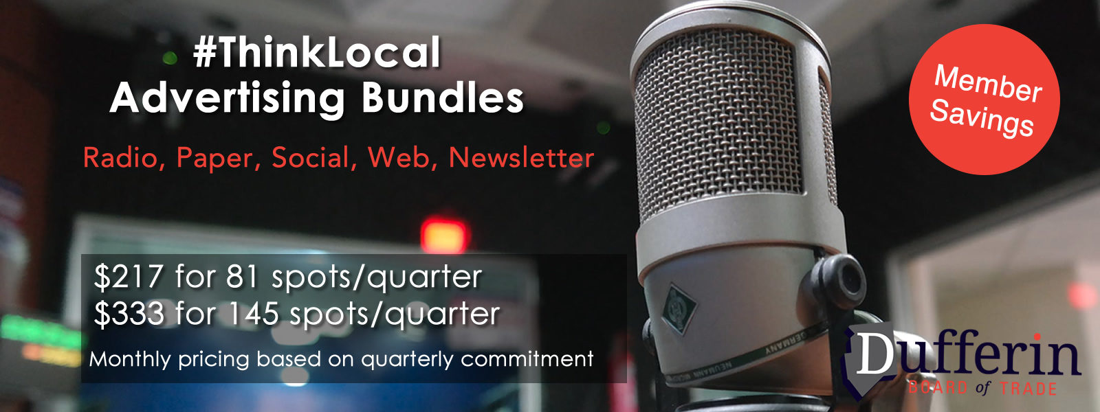 Think local advertising bundles
